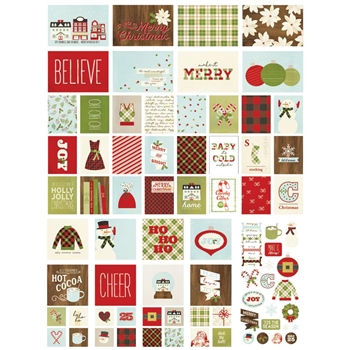 Simple Stories CLASSIC CHRISTMAS Snap Cards 7323
