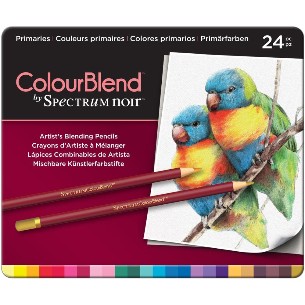 Crafter's Companion PRIMARIES Spectrum Noir ColourBlend Pencils SPECCBPRI24 zoom image