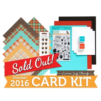 Simon Says Stamp Card Kit of The Month OCTOBER 2016 Nuts About You CK1016