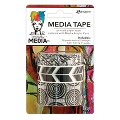 Dina Wakley Ranger PRINTED Media Tape MDA49746 Preview Image
