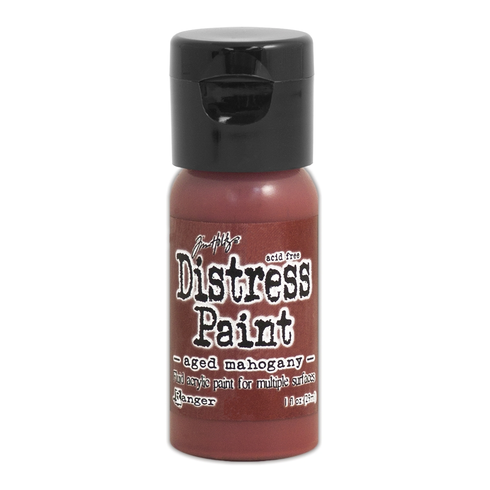 Tim Holtz Flip Top Distress Paint AGED MAHOGANY Ranger TDF52890 zoom image