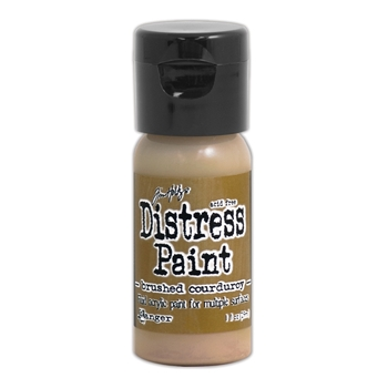 Tim Holtz Flip Top Distress Paint BRUSHED CORDUROY Ranger TDF52951