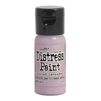Tim Holtz Flip Top Distress Paint MILLED LAVENDER Ranger TDF53101