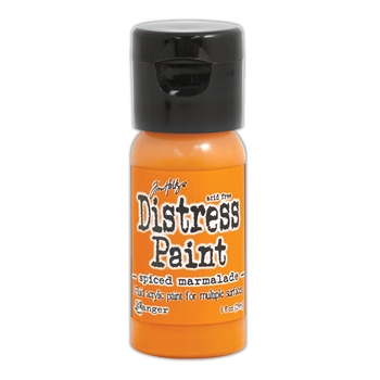 Tim Holtz Flip Top Distress Paint SPICED MARMALADE Ranger TDF53279