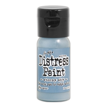 Tim Holtz Flip Top Distress Paint STORMY SKY Ranger TDF53309