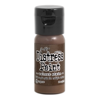 Tim Holtz Flip Top Distress Paint WALNUT STAIN Ranger TDF53361