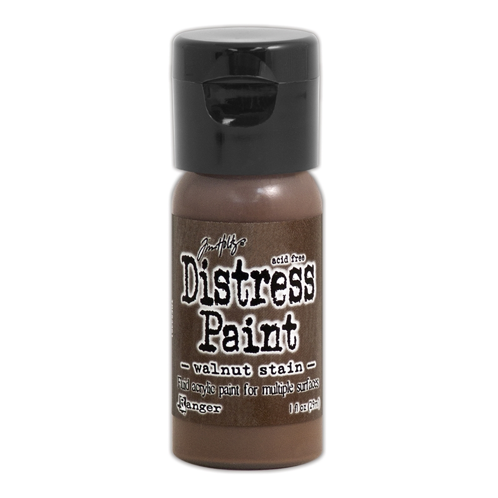 Tim Holtz Flip Top Distress Paint WALNUT STAIN Ranger TDF53361 zoom image