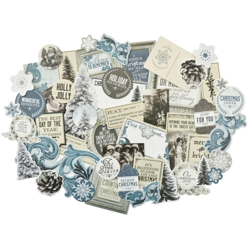 Kaisercraft FROSTED Collectables Die Cut Shapes CT864 Preview Image
