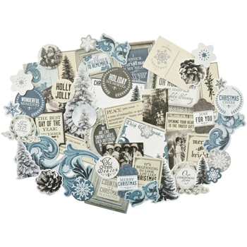 Kaisercraft FROSTED Collectables Die Cut Shapes CT864