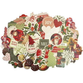Kaisercraft SILENT NIGHT Collectables Die Cut Shapes CT863
