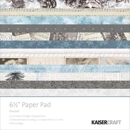Kaisercraft FROSTED 6.5 x 6.5 Inch Paper Pad PP1005 Preview Image