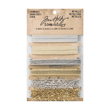 Tim Holtz Idea-ology METALLIC Trimmings TH93338