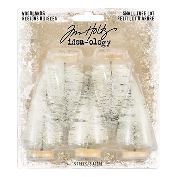 Tim Holtz Idea-ology SMALL WOODLAND TREE LOT Findings TH93638