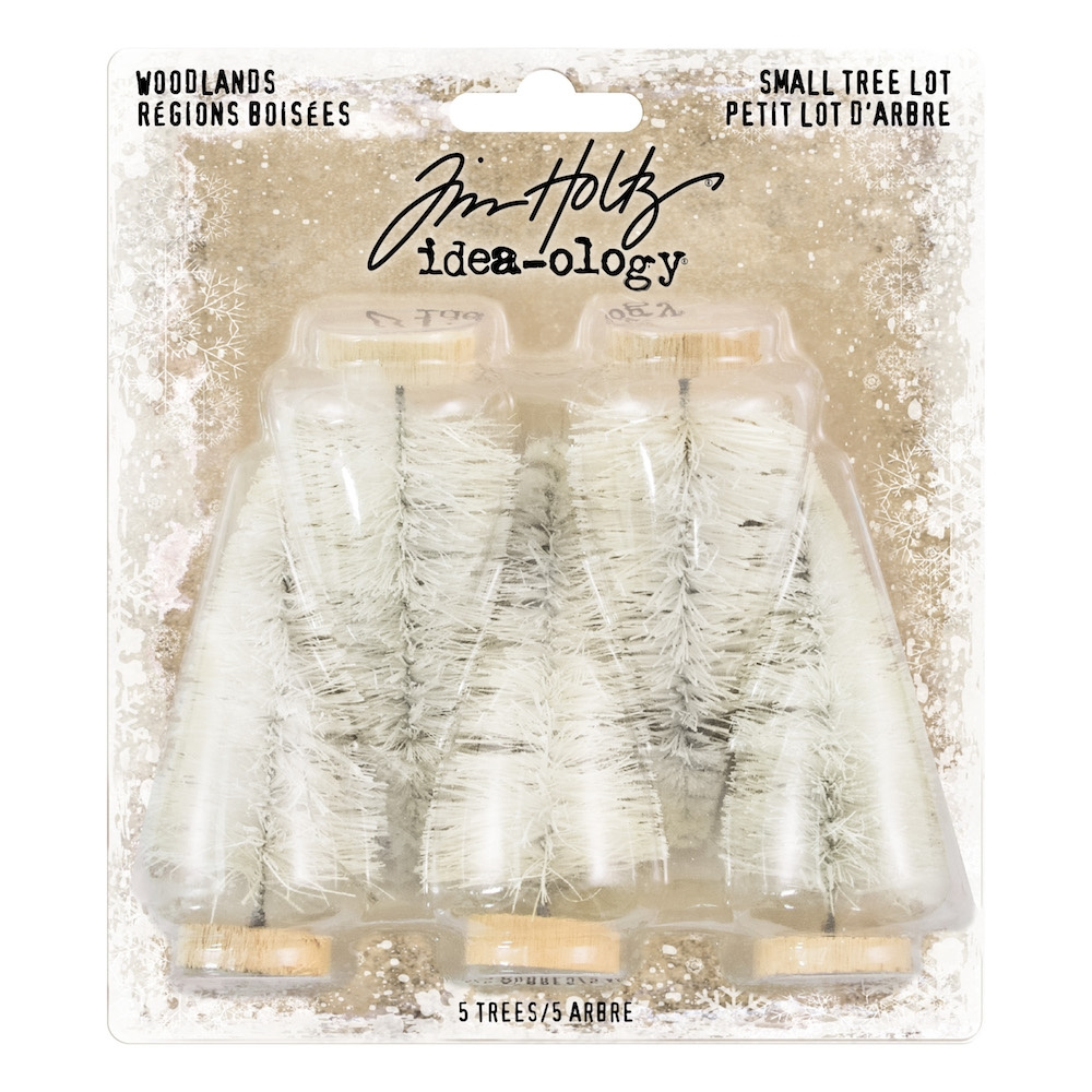 Tim Holtz Idea-ology SMALL WOODLAND TREE LOT Findings TH93638 zoom image