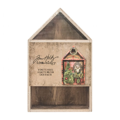 Tim Holtz Idea-ology VIGNETTE BOX HOUSE Structures TH93339* Preview Image