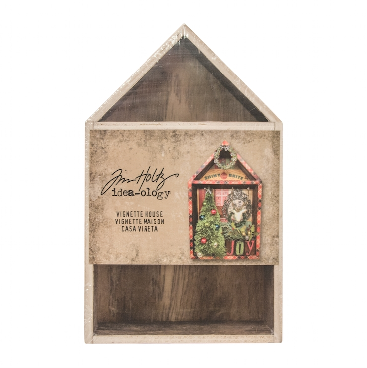 Tim Holtz Idea-ology VIGNETTE BOX HOUSE Structures TH93339* zoom image