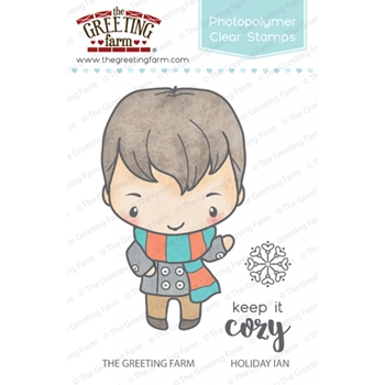 The Greeting Farm HOLIDAY IAN Clear Stamps TGF272