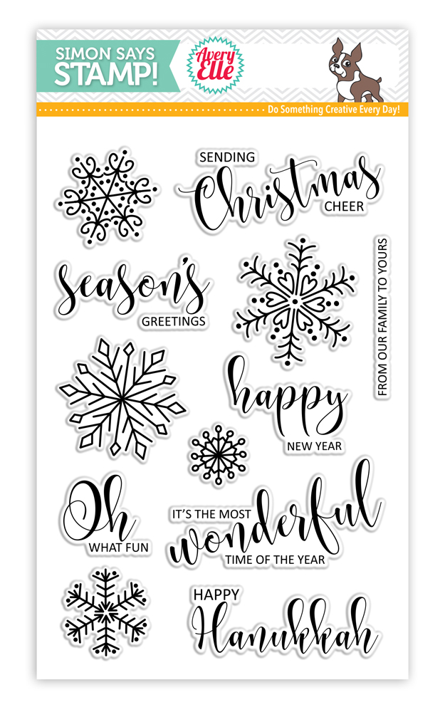 Avery Elle Stamptember Stamp Set CHRISTMAS CHEER sss101667