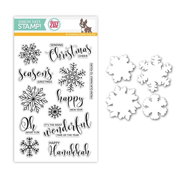 Avery Elle Stamptember Stamp and Die Set CHRISTMAS CHEER Set277cc