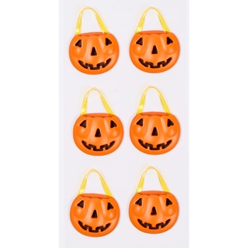 Little B PUMPKIN BASKETS Mini Stickers 102221