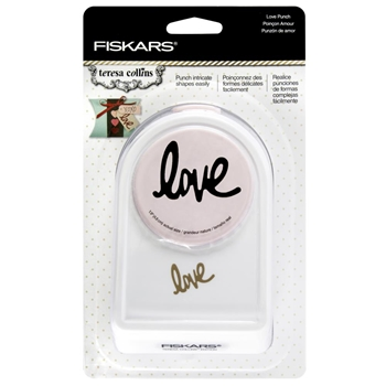 Fiskars Teresa Collins LOVE Intricate Shape Punch 051829