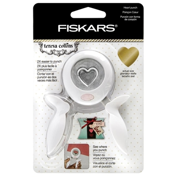 Fiskars Teresa Collins HEART Medium Squeeze Punch 051744