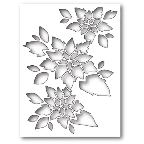 Memory Box POINSETTIA COLLAGE Craft Die 99585 Preview Image