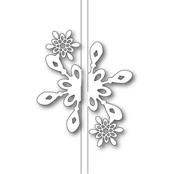 Memory Box BRIGHT SNOWFLAKE CLOSER Craft Die 99586