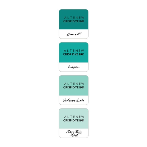 Altenew SEA SHORE Mini Cube Crisp Dye Ink Pad Pack ALT1243 Preview Image