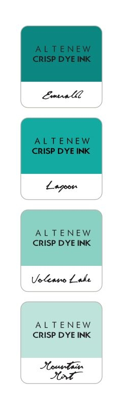 Altenew SEA SHORE Mini Cube Crisp Dye Ink Pad Pack ALT1243 zoom image