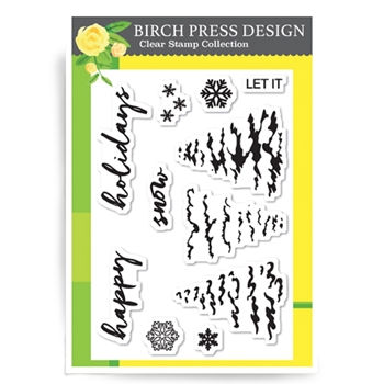 Birch Press Design Let It Snow
