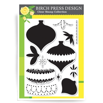 Birch Press Design BEADED ORNAMENT Clear Stamps CL8110