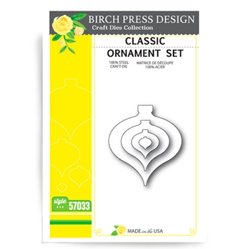 Birch Press Design CLASSIC ORNAMENT Craft Die 57033