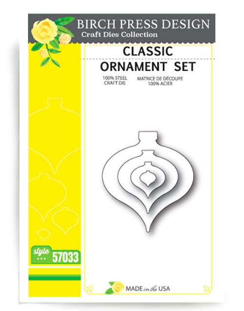 Birch Press Design CLASSIC ORNAMENT Craft Die 57033 zoom image