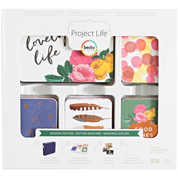 Becky Higgins American Crafts Project Life MODERN Edition Core Kit 380674