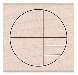 Hero Arts Rubber Stamp SMALL CIRCLE GRID F6188
