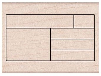 Hero Arts Rubber Stamp BOX GRID PLANNER F6185