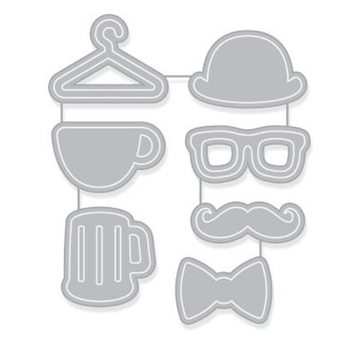 Hero Arts HIPSTER ICONS Dies DI322