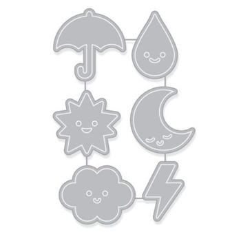 Hero Arts WEATHER ICONS Dies DI321