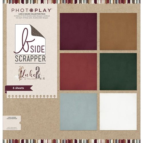 PhotoPlay LUKE 2 12 x 12 Solids Collection Pack LT2334 Preview Image