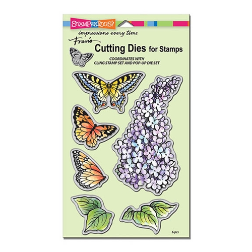 Stampendous LILAC DIE CUT SET DCS5093 Preview Image