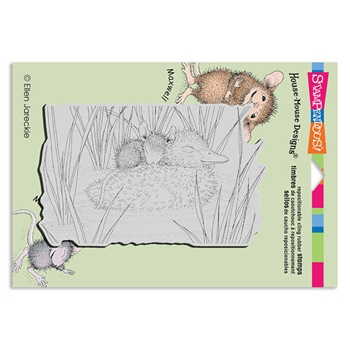 Stampendous Cling Stamp DUCKY NAP Rubber UM HMCP58 House Mouse