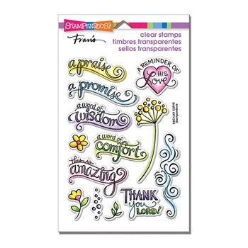 Stampendous Clear Stamps BIBLE PROMISES SSC1251