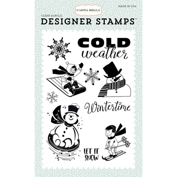 Carta Bella WINTERTIME Clear Stamps CBSF59043