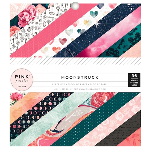 Pink Paislee MOONSTRUCK 6 x 6 Paper Pad 310485 Preview Image