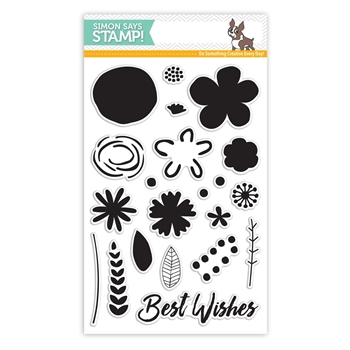 My Favorite Things Stamptember Stamp Set BEST WISHES BLOOMS SSS101674