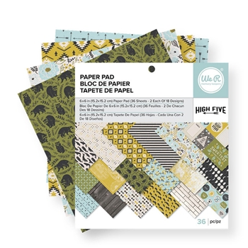 We R Memory Keepers HIGH FIVE 6x6 Paper Pad 663049