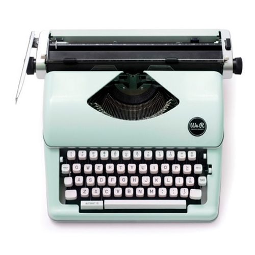 We R Memory Keepers MINT TYPEWRITER Typecast 663062 Preview Image