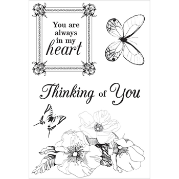 Kaisercraft OOH LA LA Clear Stamps CS274