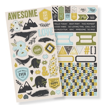 We R Memory Keepers HIGH FIVE Accent Stickers 663052